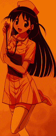 School Rumble anime girl